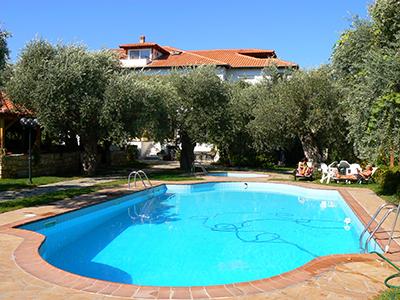 Vila Effi Garden Limenas Apartmani Club Paradiso