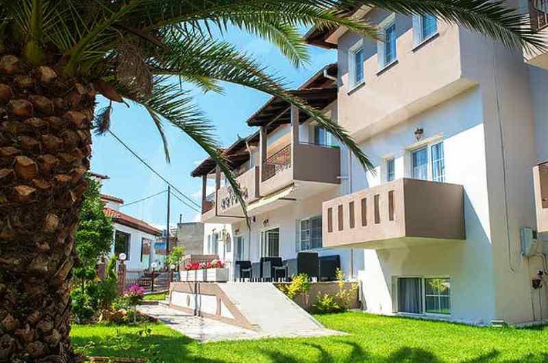Vila Krista Limenas Apartmani Club Paradiso